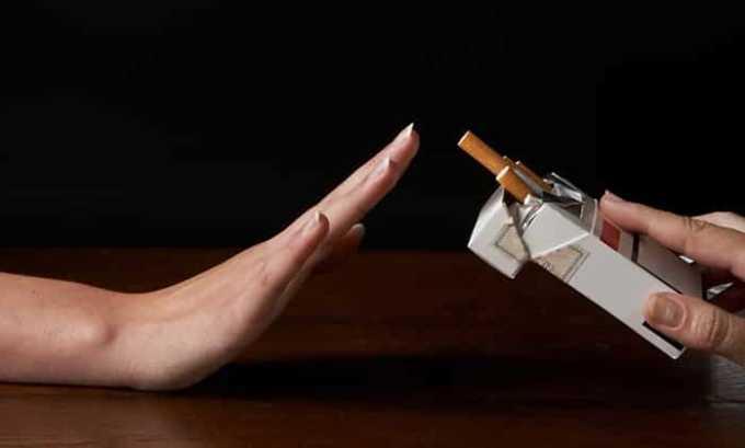 Нельзя курить за 3 часа до сдачи крови на анализ