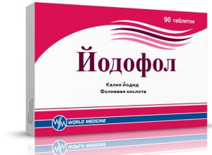 Препарат Йодофол