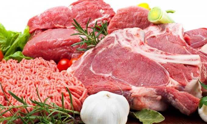 Мясо и мясопродукты с минимальным содержанием жиров (телятина, говядина, индейка и курица, кролик или дичь) - источник необходимых аминокислот