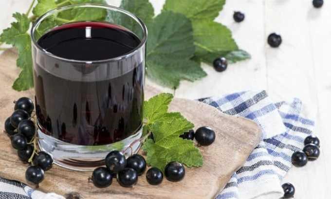 Народные рецепты включают в себя также отвары из черной смородины и шиповника
