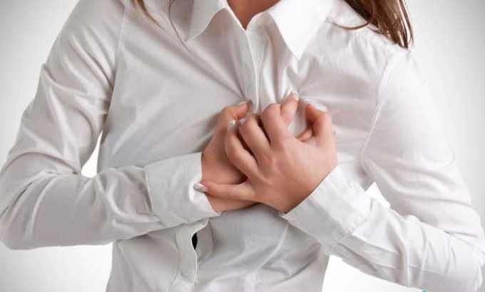Дискомфортные ощущения в области сердца больные могут испытывать при заболевании