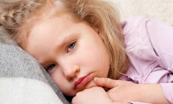Если у ребенка имеется эндокринное расстройство, это может сопровождаться следующими симптомами - повышенной утомляемостью, вялостью, апатичностью