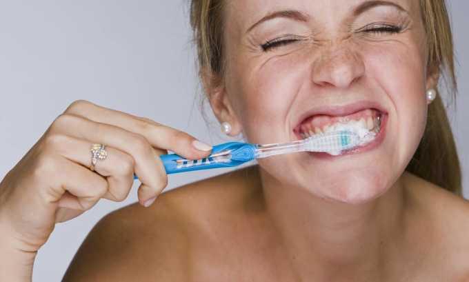В день сдачи анализа нельзя чистить зубы