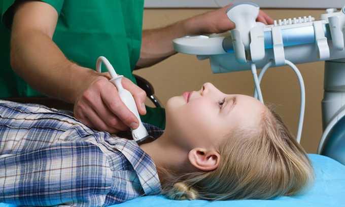 При помощи ультразвуковой диагностики устанавливается уровень коллоида в клетках, наличие кист и их параметры