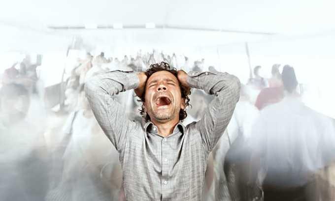 Необходимо исключить волнение и избегать стрессовых ситуаций