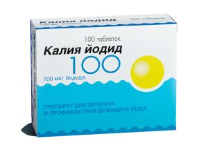 Препарат Калия йодид