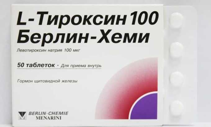 Без операции заболевание можно вылечить с помощью супрессивной терапии. Препарат безоперационной помощи, который применяется в такой терапии — это Тироксин