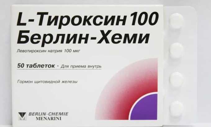 Для лечения тиреоидита назначают лекарства, содержащие гормоны щитовидной железы. Это может быть препарат L-Тироксин