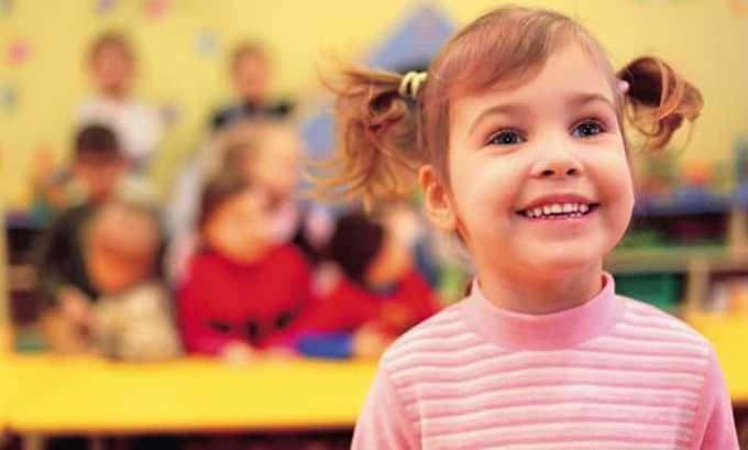 Примерно в возрасте 4 лет объем железы у девочки составляет 1,3 см³