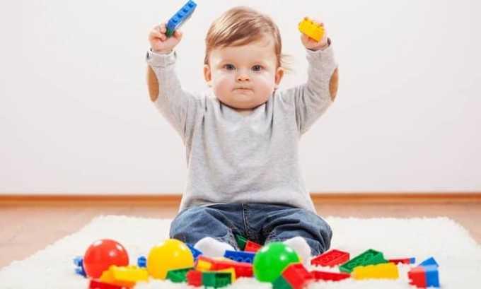 У годовалого мальчика нормальный размер щитовидки 0,8 см³