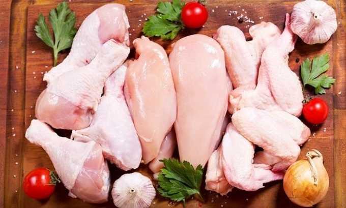 Можно при патологии щитовидки употреблять куриное мясо