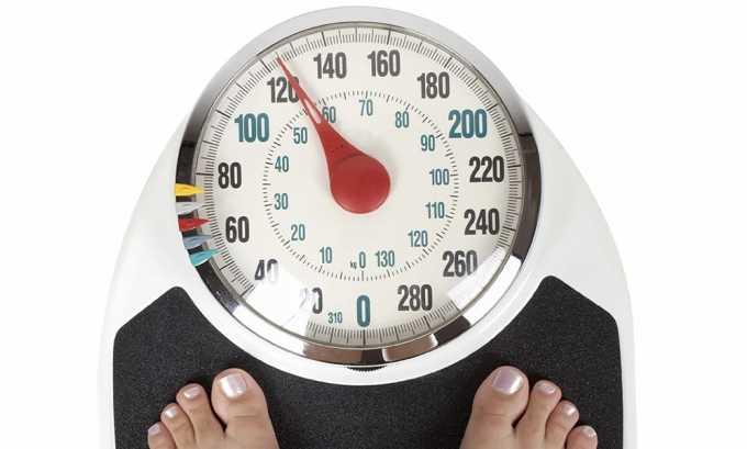 Возможно снижение веса при нормальном аппетите