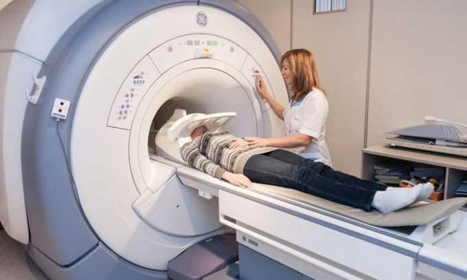 Для точного диагноза необходимо сделать МРТ