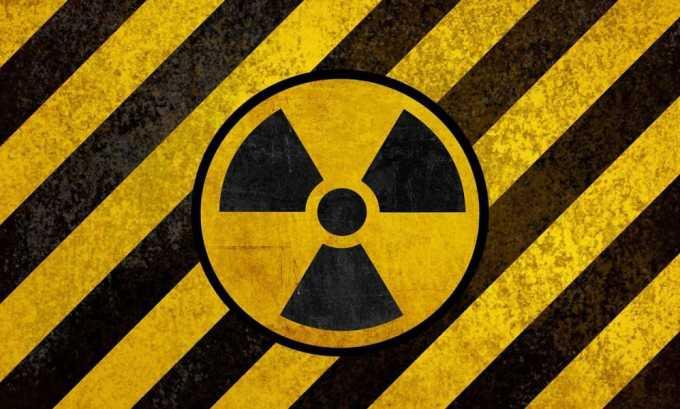 Причиной развития гипотиреоза может послужить терапия с использованием радиоактивного йода
