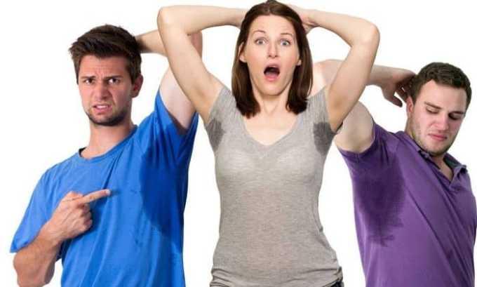 К характерным симптомам аутоиммунных заболеваний щитовидки относят повышенную потливость