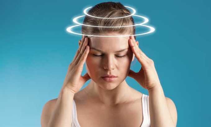 У больного могут наблюдаться головокружения