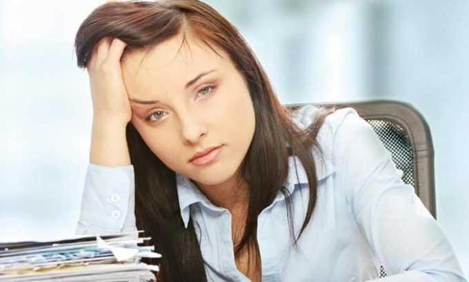 При первичном гипотиреозе появляется усталость и падает трудоспособность