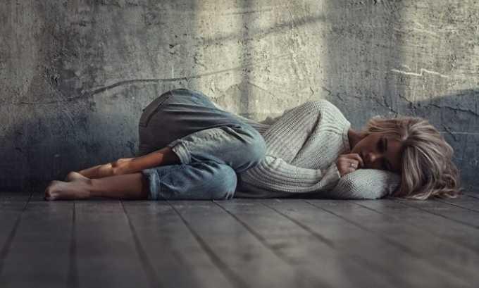 Увеличение щитовидки может произойти из-за продолжительной депрессии