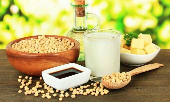 Детям желательно употреблять продукты из сои для профилактики заболевания работы органа без гормонов