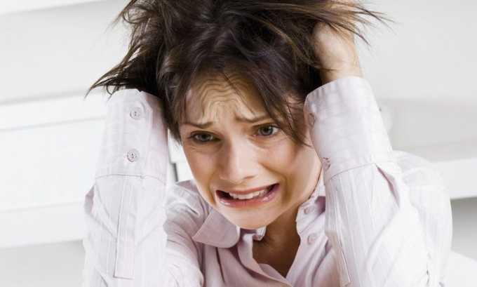 Повышенная раздражительность является одним из симптомов