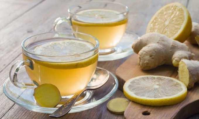 Отличное средство, которое может помочь восстановить работу щитовидной железы, готовят из корня имбиря, дольки лимона и небольшого количества мела