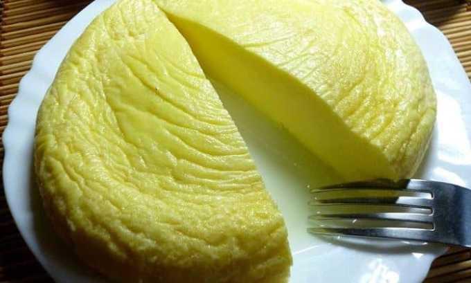 Отличное диетическое блюдо - белковый омлет, приготовленный на пару