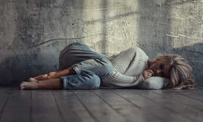 Пациент, который страдает от столь тяжелого недуга, подвержен депрессиям