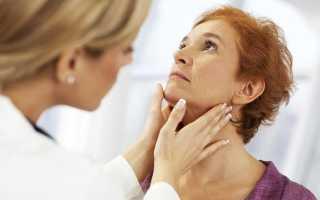 Правила пальпации щитовидной железы и результаты осмотра