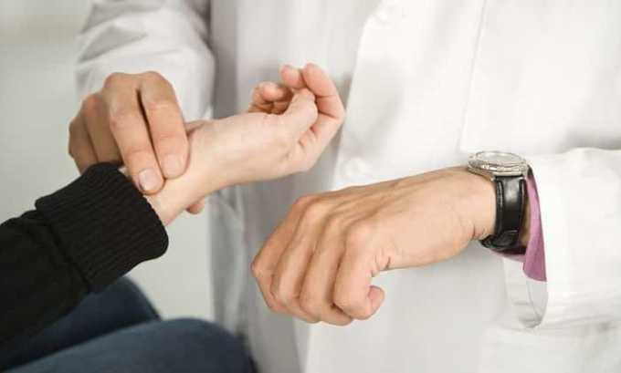 Очень часто столь серьезный недуг сопровождается учащением пульса