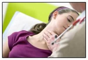 Симптомы нарушений работы щитовидной железы