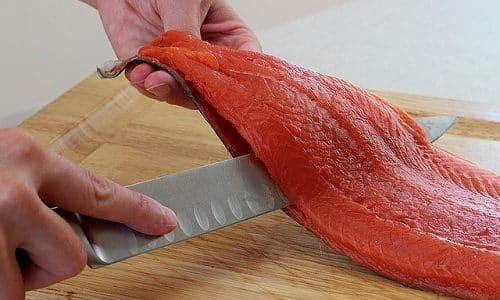 На ужин можно приготовить рыбное филе