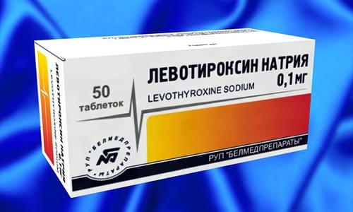 Лечение пониженной функции включает в себя прием синтетических гормонов. К таким относят левотироксин