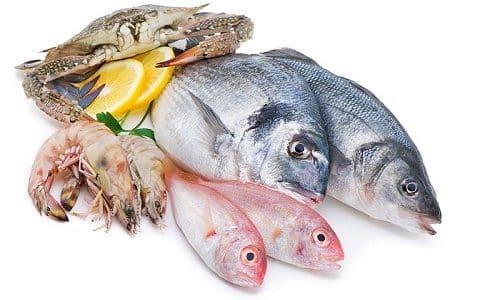 Нехватка йода в организме восполняется употреблением большого количества морепродуктов