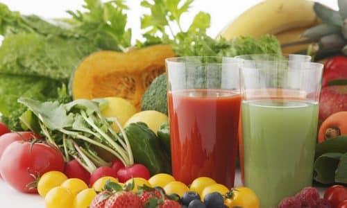 Восстановление щитовидной железы народными средствами предусматривает использование овощных соков