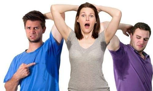 Прогрессирование поражения щитовидной железы приводит к появлению повышенного потоотделения