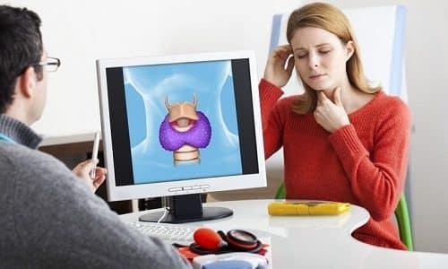 Ведение беременности на всем сроке берется под тщательный контроль не только гинеколога, но и эндокринолога