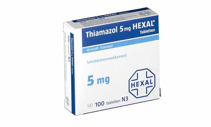 Препарат Тиамазол для лечения тиреотоксикоза